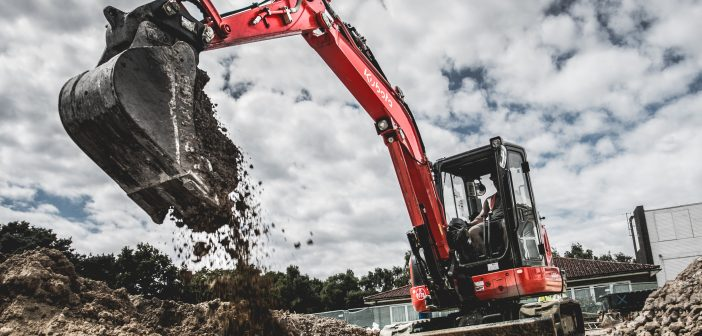 Kubota Launches Finance Solution On Five Tonne Excavators