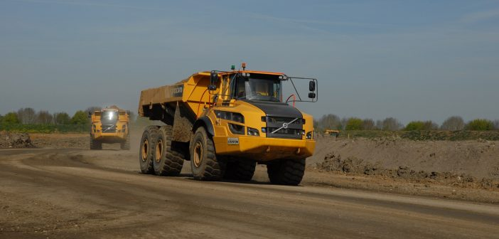 Sales up 30% in Volvo CE's first quarter
