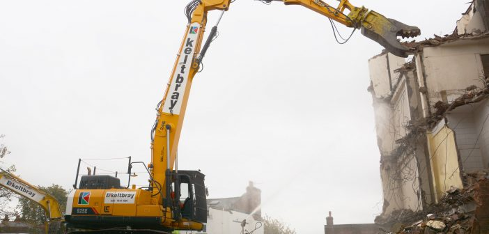Keltbray takes the first high reach LiuGong in the UK