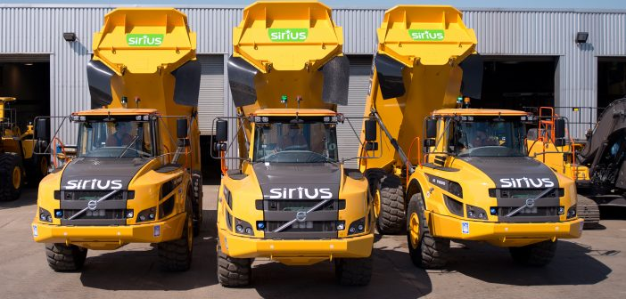 Sirius Group drives down fuel consumption with Volvo ADT's