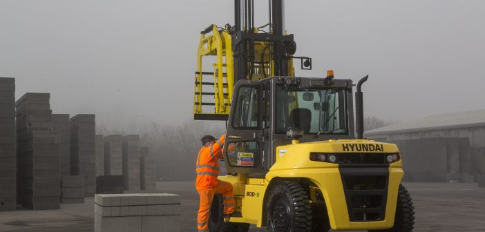 New Kid on the Block – Interfuse take delivery of its first Hyundai Forklift