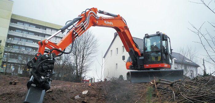 Kubota's 8 tonne excavator gets an upgrade
