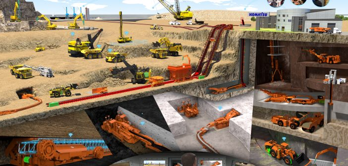 Komatsu acquires Joy Global to expand mining business