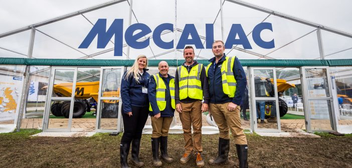 Mecalac set to lead the way in compact construction equipment