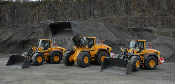 Largest Volvo yet for Tillicoultry Quarries
