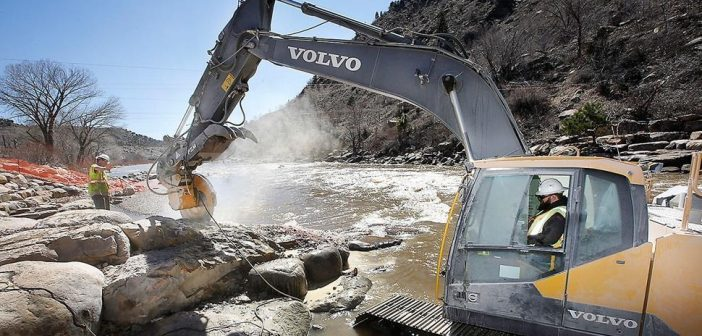 VOLVO MAKES A SPLASH IN COLORADO