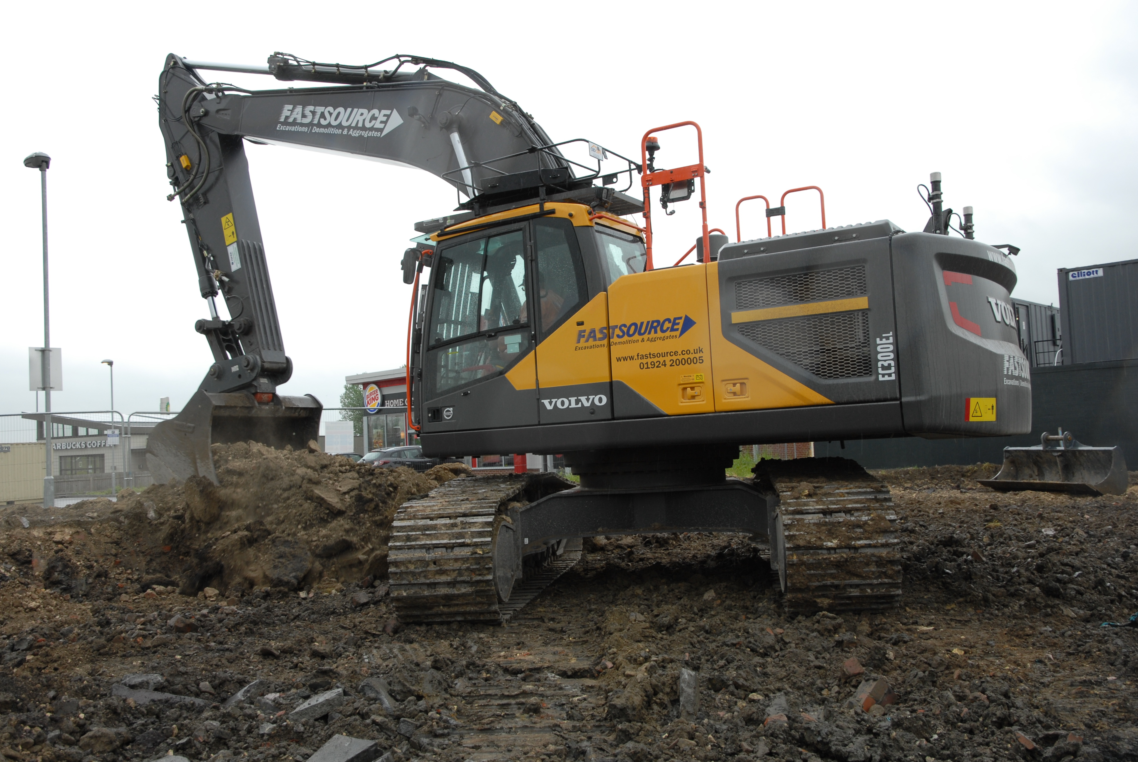backhoe and construction compaction used equipment roller sd volvo