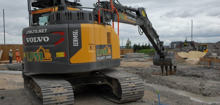LPM Plant Hire & Sales Ltd steps up a gear with larger Volvo excavators