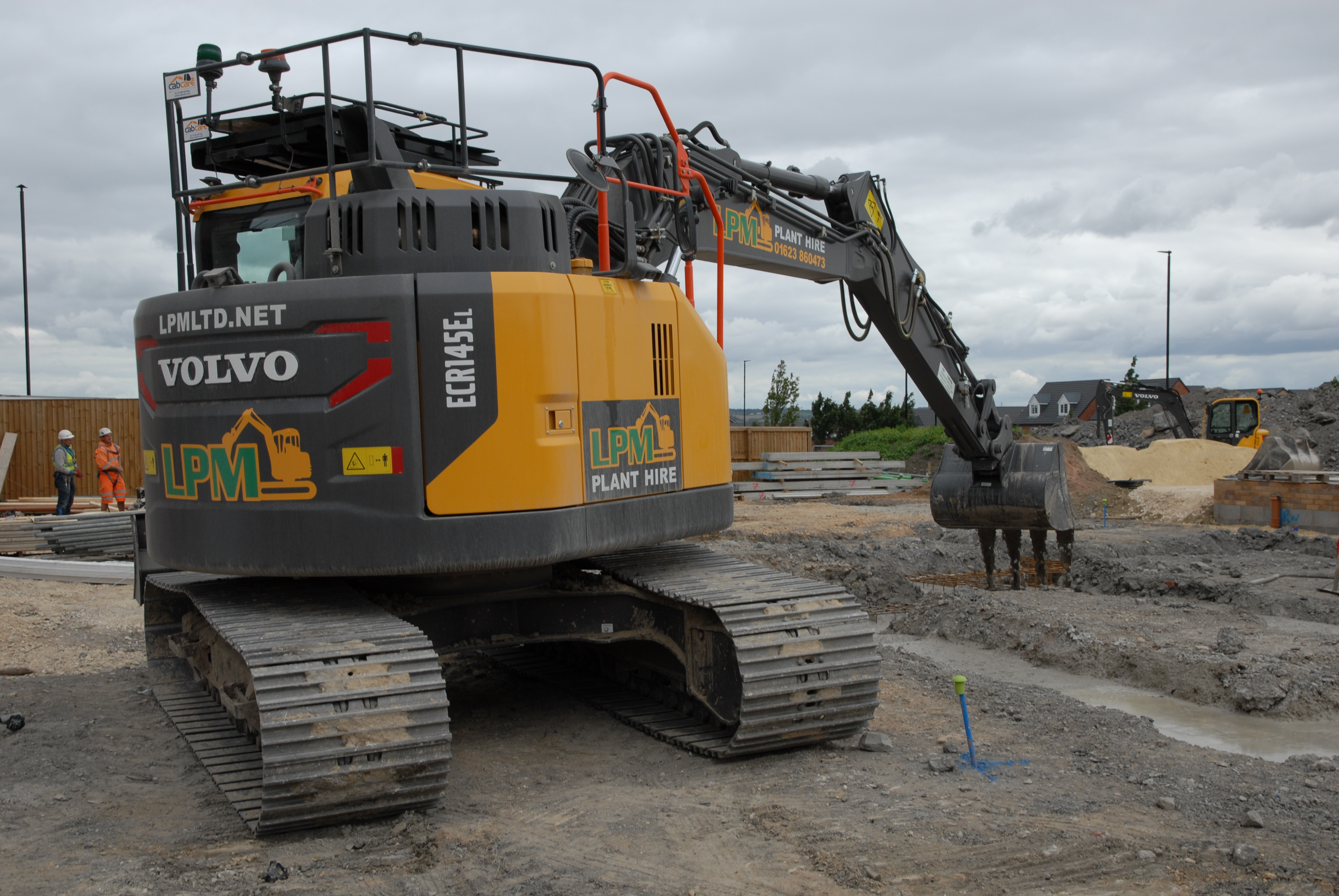 LPM Plant Hire & Sales Ltd steps up a gear with larger Volvo