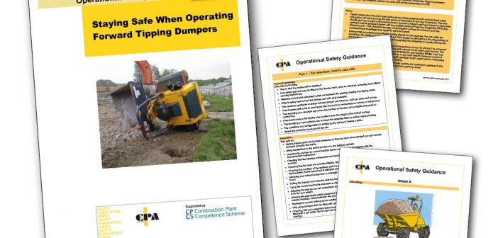 CPA Releases New Safety Guidance for Operators of Forward Tipping Dumpers