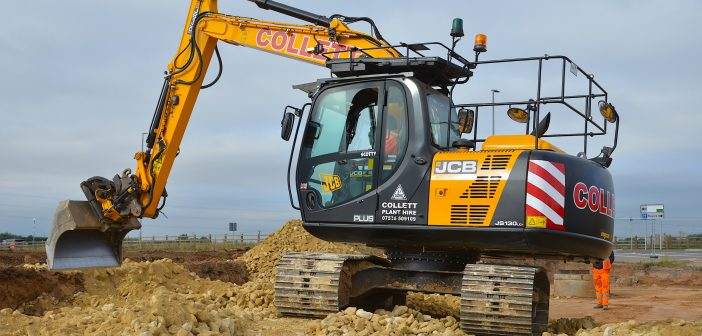 COLLETT EXPANDS HIRE FLEET WITH NEW JCB EXCAVATORS