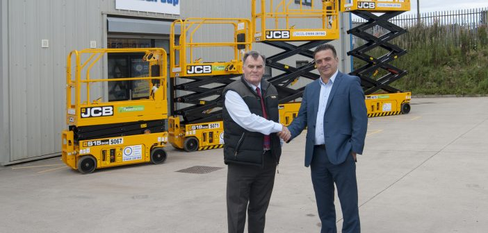 JCB cuts into scissor market with huge Active Access deal