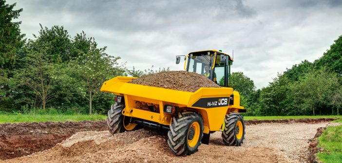 New JCB Site Dumpers in production in the UK
