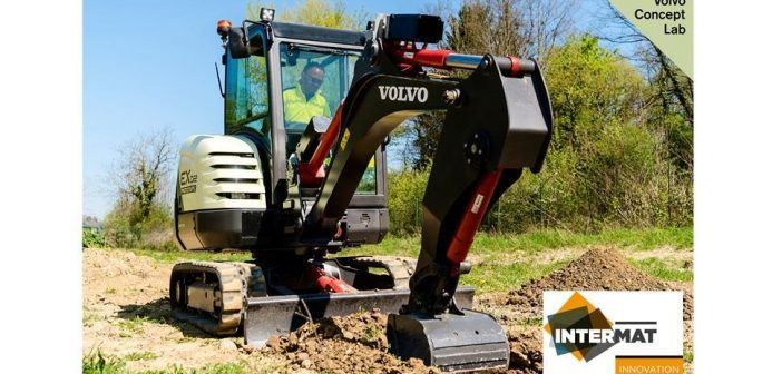 Volvo Construction Equipment's fully-electric compact excavator has won an Intermat Innovation Award
