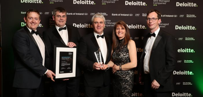 Going for Gold – Hill Engineering has been once again awarded as one of Ireland's 'Best Managed Companies'.