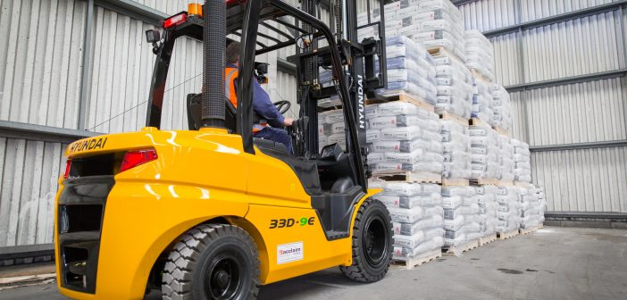 Hyundai is the brand of choice for shipping company Scotline with a fleet of 20 Hyundai forklifts