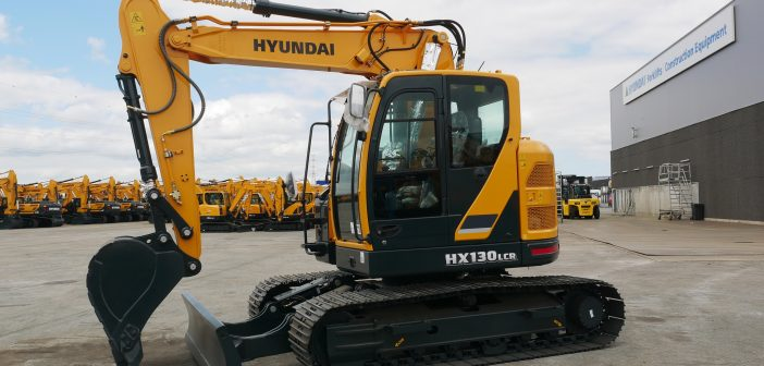 Hyundai Construction Equipment launches the two-piece boom version of the new HX130 LCR crawler excavator