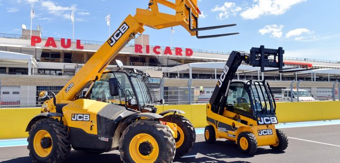 JCB on the Grid at French Grand Prix