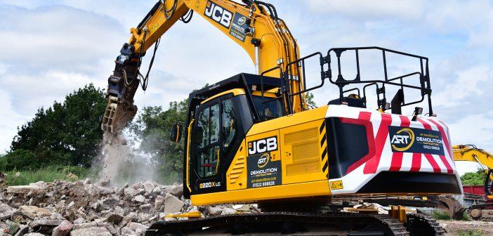 A.R.T. Demolition buys first demolition specification JCB X Series excavators