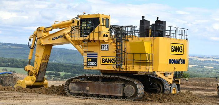 Mine over matter - Komatsu excavator rebuilt and up for work in