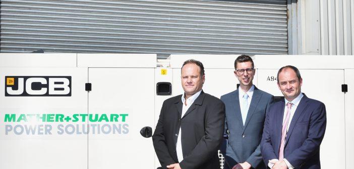 Mather & Stuart expands with £4.5M JCB Generator order