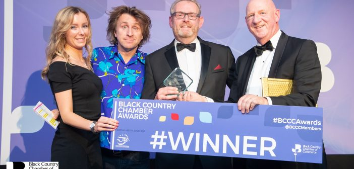 Morris Site Machinery wins big at Black Country Awards