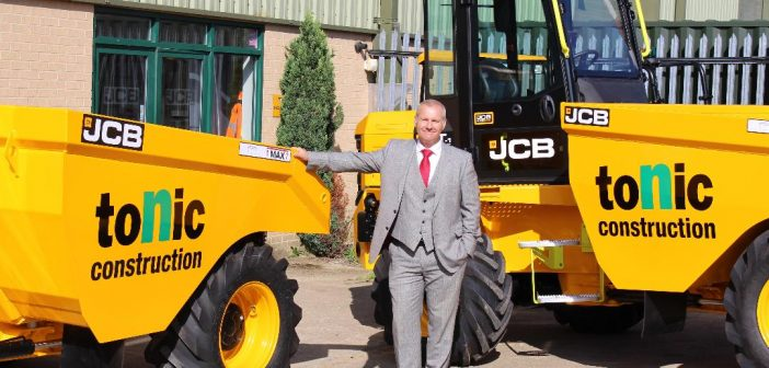 JCB site dumpers just the Tonic for safety conscious contractor