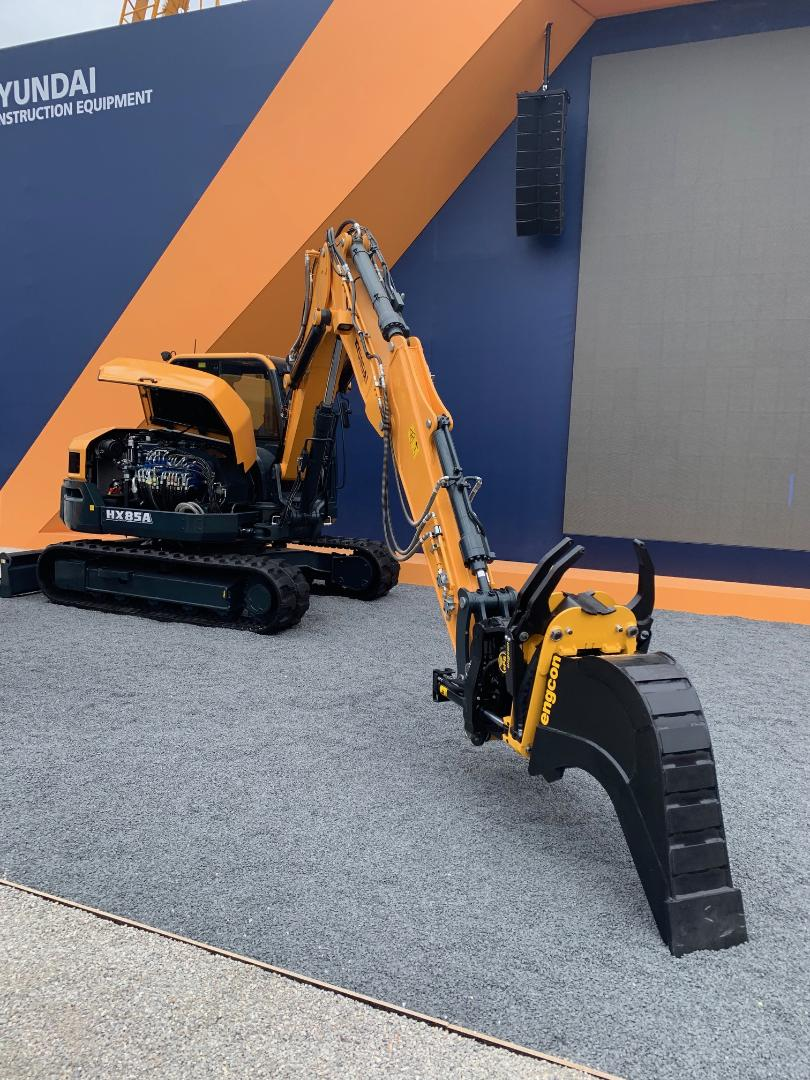Hyundai Construction Equipment prepare their excavators for