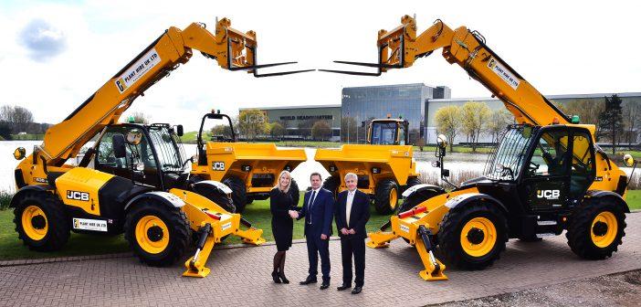 JCB Multi Million Pound deal with Plant Hire UK