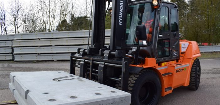 Leading Security Barrier Manufacturer, Hardstaff Barriers, Expand Fleet with New Hyundai Fork-Trucks
