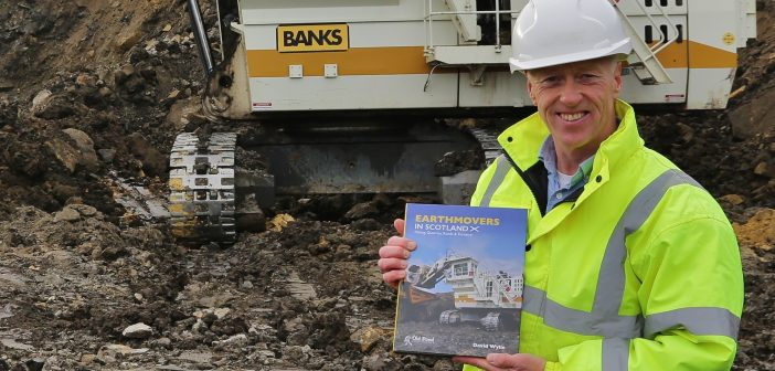Construction Machinery author David Wylie prepares to release new Earthmoving and Mining book in 2019