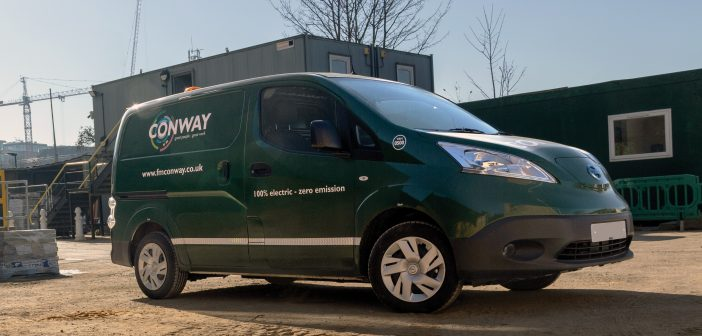 Construction firm tackles problem of quiet electric fleets