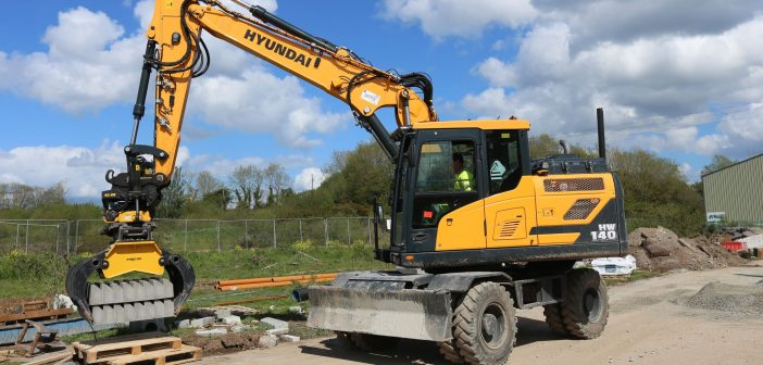 All bells and whistles 'Hyundai Duck' increases Collins Plant Hire's productivity!