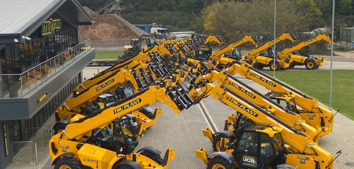 JCB Loadalls complete £16 Million Investment from Tru Plant