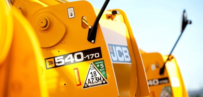 JCB makes CESAR Emissions Compliance Verification Standard