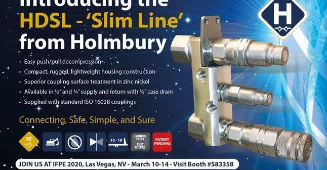 Holmbury to launch HDSL 'Slim line'