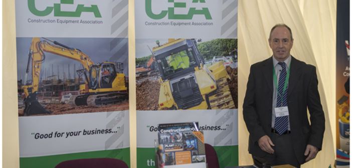 The CEA exhibited at the NFPC Industry Open Day
