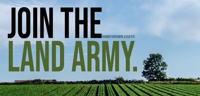 Our farmers need you! Join the Land Army, Feed the Nation