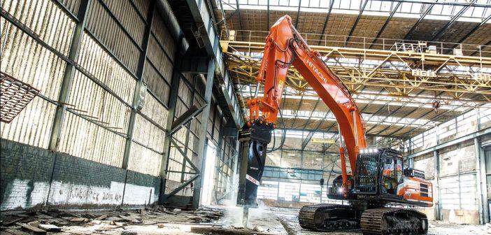 Hitachi launches new Hydraulic Breaker range