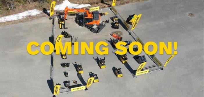 Engcon live-streamed excavator showcase
