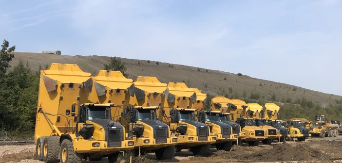 Used equipment sales are being used to fund new equipment purchases