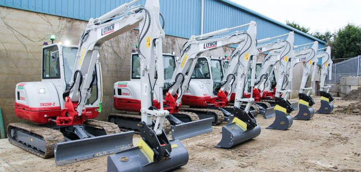 Small is beautiful – Lynch Plant Hire's new Takeuchi minis fitted with GKD machine guidance safety system