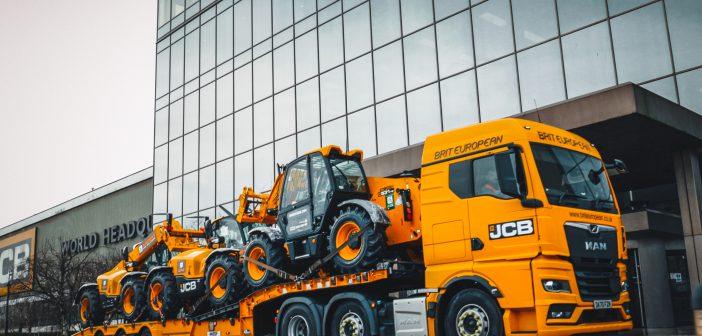 £26 million order for JCB Loadall models
