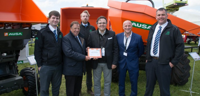 Mawsley Machinery Awarded AUSA Dealer of the Year at Plantworx