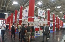 Only one stand remains in the UK Pavilion at bauma China 2016