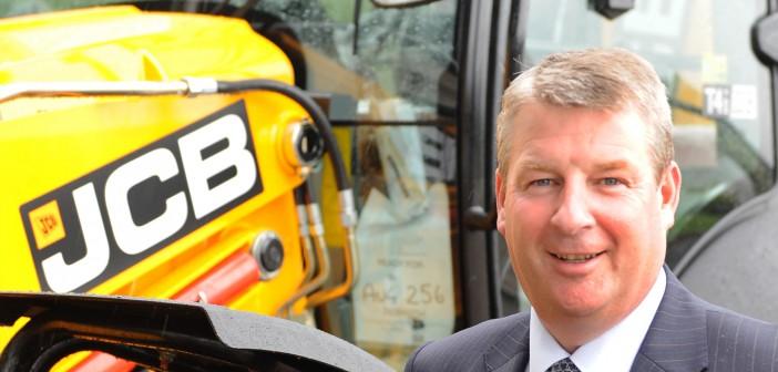 JCB's Tim receives top UK engineering honour.