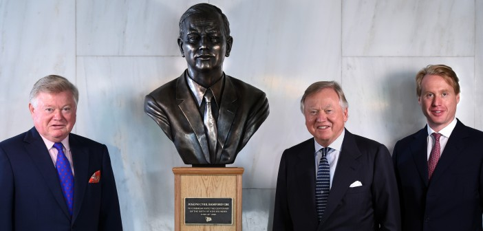 Bronze Artwork Honors 'Mr JCB' on the Centenary of his Birth