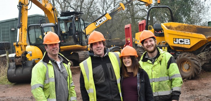 It's a real family affair at expanding Digger Training School!