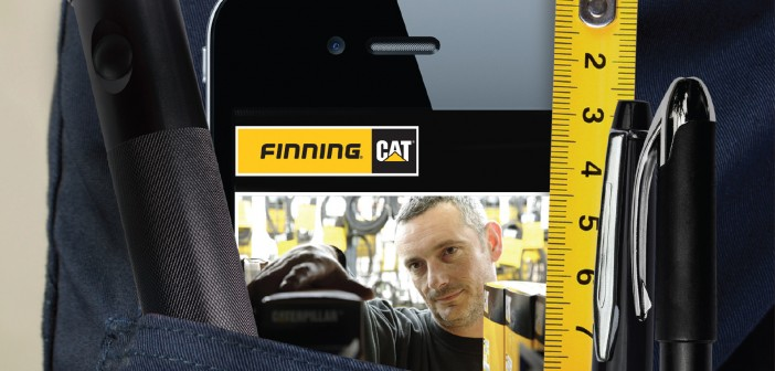 Finning Goes Mobile with New Parts Website
