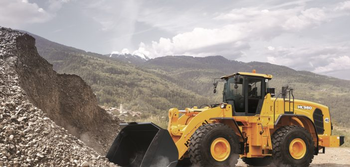 Hyundai introduce the Hyundai HL980 Wheeled Loader.
